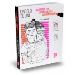 Dincolo de linii - Coloreaza 119 lucrari de arta contemporana - Souris Hong