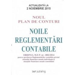 Noul plan de conturi. Noile reglementari contabile A4 - actualizata la 2 noiembrie 2015 -