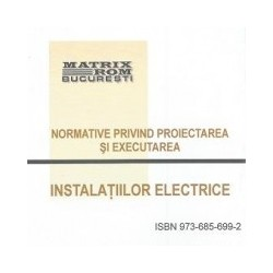 Normative privind proiectarea si executarea instalatiilor electice (CD) -