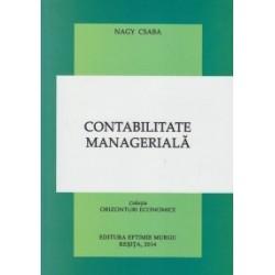 Contabilitate manageriala - Nagy Csaba