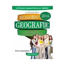 Bacalaureat 2016. Geografie. 36 de teste dupa modelul M.E.C.S. - Ioan Abrudan, Sanda Bulgarean
