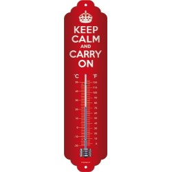 Termometru Keep Calm and Carry On -