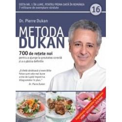 Metoda Dukan (Vol. 16) 700 de retete noi pentru a ajunge la greutatea corecta si a o pastra definitiv - Pierre Dukan