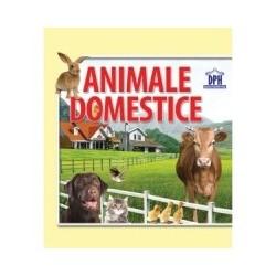 Animale domestice. Carte evantai -