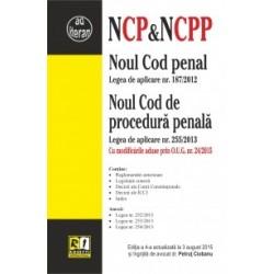 Noul Cod penal si Noul Cod de procedura penala - Editia a 4-a (Actualizat la 3 August 2015) -
