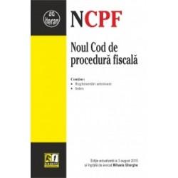 Noul Cod de procedura fiscala (Actualizat la 3 August 2015) -