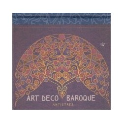 Art Deco Baroque Antistres - Bloc de colorat antistres -