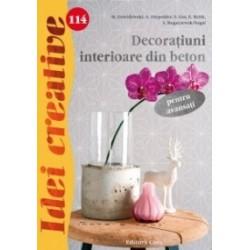 Decoratiuni interioare din beton pentru avansati - Idei creative 114 -
