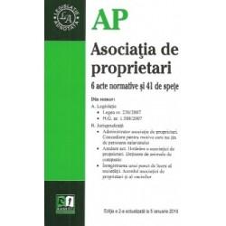 Asociatia de propietari.Editia a-2-a actualizata la 5 ianuarie 2016 -