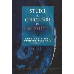 Studii si cercetari in geostiinte vol.I - Constantin RUSU, Dumitru Bulgariu