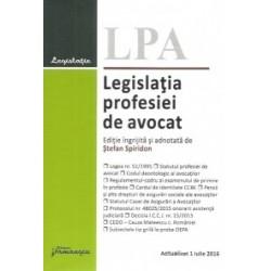 Legislatia profesiei de avocat. Actualizat 1 iulie 2016 -
