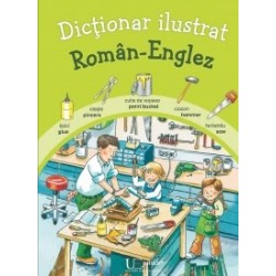 Dictionar ilustrat roman-englez -