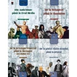 Set Personalitati care au schimbat istoria lumii - 4 carti - Larousse