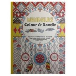 Carte de colorat pentru adulti mandale -