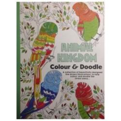 Carte de colorat pentru adulti Regatul Animalelor -