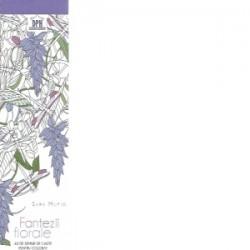 Semne de carte de colorat. Fantezii florale - Sara Muzio