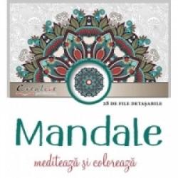 Mandale - mediteaza si coloreaza -