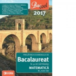 Pregatirea examenului de Bacalaureat in 30 de saptamani 2017. Matematica. M_mate-info - C. Angelescu, N. Baciu, O. Badescu, D.