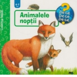 Animalele noptii - colectia Maxi -