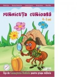 Furnicuta curioasa - fise de cunoasterea mediului 4-5 ani - Maria Verdes