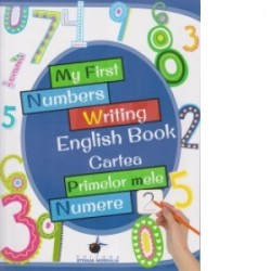 My first numbers writing english book - Cartea primelor mele numere -