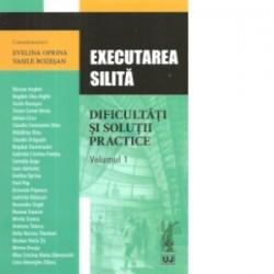 Executarea silita – dificultati si solutii practice. Volumul 1 - Evelina Oprina, Vasile Bozesan