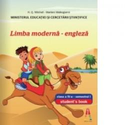 Limba moderna - engleza (student s book) clasa a IV-a, semestrul I - H. Q. Mitchell, Marileni Malkogianni