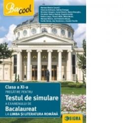 Clasa a XI-a. Pregatire pentru testul de simulare a examenului de bacalaureat la limba si literatura romana 2017 - Eleonora Bul