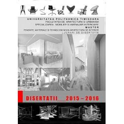 Disertaţii 2015-2016 - Universitatea Politehnica Timişoara. Facultatea de Arhitectură şi Urbanism