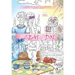 Ceai în doi. Carte de colorat motivațională pentru adulți