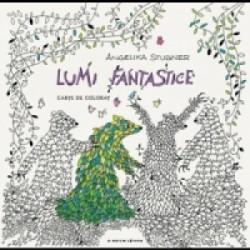 Lumi fantastice. Carte de colorat - Angelika Stubner
