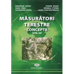 Măsurători terestre. Concepte Vol. III - Gheorghe Novac