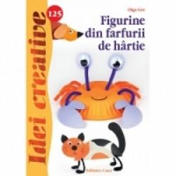 Figurine din farfurii de hartie - Idei creative 125 - Olga Gre