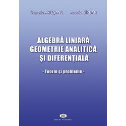 Algebră liniară, geometrie analitică şi diferenţială. Teorie şi probleme - Camelia Arieşanu, Anania Gîrban
