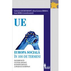 Europa sociala in 100 de termeni - Gabriela Goudenhooft, Alina-Carmen Brihan, Ioan Horga