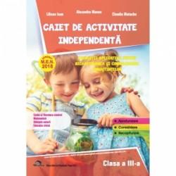 Caiet de activitate independenta. Limba si literatura romana. Matematica. Stiintele naturii. Educatie civica. Exercitii aplicat