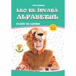 Leo te invata alfabetul. Pentru clasa pregatitoare. Caiet de lucru - Ilinca Neacsu