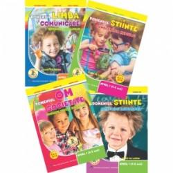 Set 4 Carti Gradinita nivel 4-5 ani - Alexandra Manea
