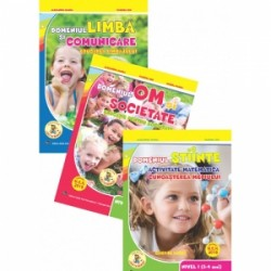 Set 3 Carti Gradinita nivel 3-4 ani - Alexandra Manea