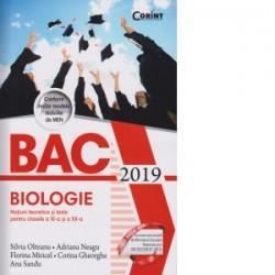 Bacalaureat 2019. Biologie. Notiuni teoretice si teste pentru clasele a XI-a si a XII-a - Silvia Olteanu, Adriana Neagu, Florin
