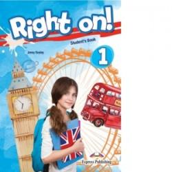Curs Limba Engleza Right On 1 Manualul Elevului - Jenny Dooley