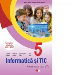 Informatica si TIC. Manual pentru clasa a V-a (contine CD) - Oana Rusu, Luminita Ciocaru, Stefania Penea, Claudia-Elena Stan