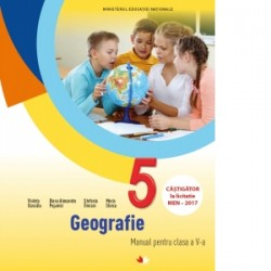 Geografie. Manual pentru clasa a V-a (contine CD) - Violeta Dascalu, Diana Alexandra Popovici, Stefania Omrani, Maria Stoica