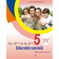 Educatie sociala. Manual pentru clasa a V-a (contine CD) - Elena Nedelcu, TAMARA MANATU, Liliana Zascheievici, Nicoleta-Laura C