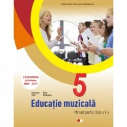 Educatie muzicala. Manual pentru clasa a V-a (contine CD) - Florentina Chifu, Petre Stefanescu