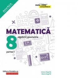 Matematica. Algebra, geometrie. Clasa a VIII-a. Consolidare. Partea I - Anton Negrila, Maria Negrila