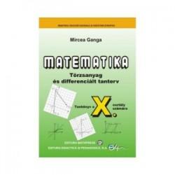 Matematica Limba Maghiara (TC-CD). Clasa a X-a - Mircea Ganga