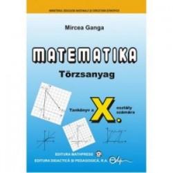 Matematica Limba Maghiara (TC). Clasa a X-a - Mircea Ganga