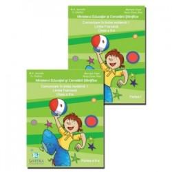 Comunicare in limba moderna 1. Limba Franceza. Clasa a II-a. Set 2 volume Partea I + Partea a II-a - Mariana Visan , Raisa Elen