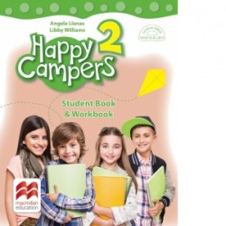 Happy Campers. Student Book, Workbook. Clasa a II-a - Angela Llanas, Libby Williams